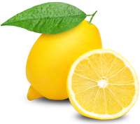 Lemons in water create a solution that kills bacteria associated with causing diarrhea.